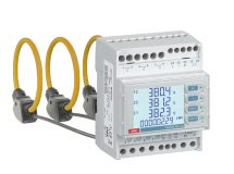 Multifunction kit with 3 Rogowski coils for AC networks